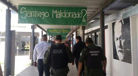 Universidad Nacional de Rosario I Repudio a la provocación de Gendarmería