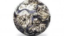 La pelota manchada