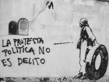 Criminalizar la protesta  e ilegalizar la lucha popular