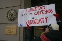 Libertad a los presos políticos de Curuguaty