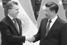 Macri en China