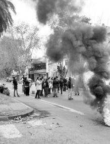 Movilización  en Rosario de CUBa-MTR