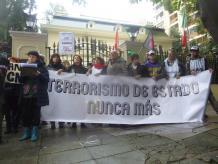 Repudio a la matanza de los maestros en México