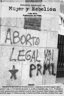 """Nuevo Boletín """"Mujer y Rebelión"""""""